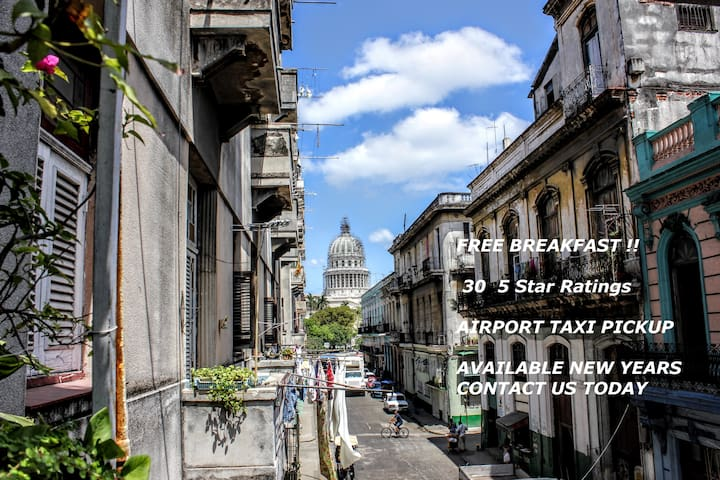 Habana Vieja. Casa Cuba  1 Bedroom. FREE Breakfast - Havana - House