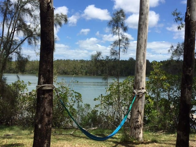 Noosa North Shore ABSOLUTE Riverfront Paradise