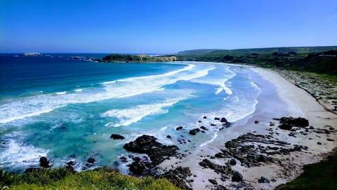 Cabaña con hermosa vista - Cascabeles al Mar