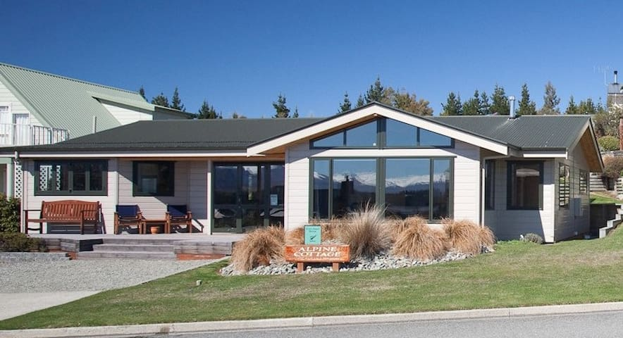 Luxury 3 bedroom cottage - Lake Tekapo - Casa