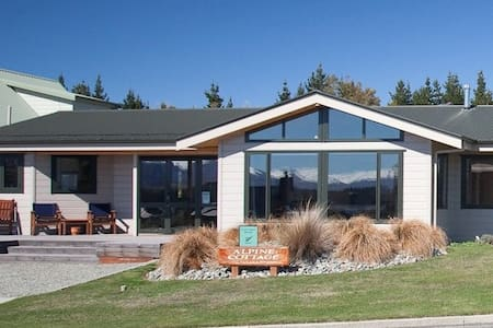 Luxury 3 bedroom cottage - Lake Tekapo - Dom