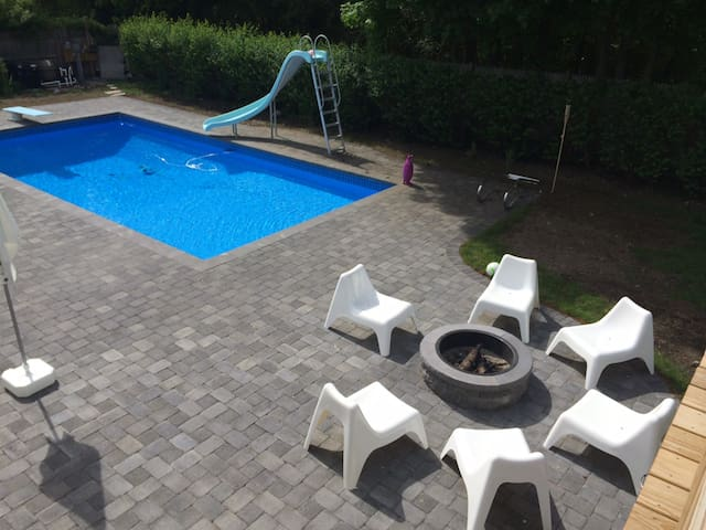 Pool Oasis House 15min from Boston