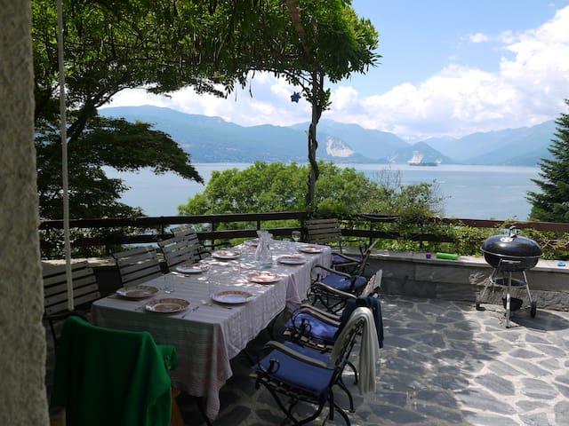 Villa Margarete Lago Maggiore with panoramic view - Leggiuno - 別荘