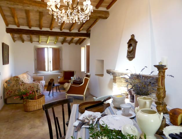Elegant countryside vacation home - Todi - Leilighet