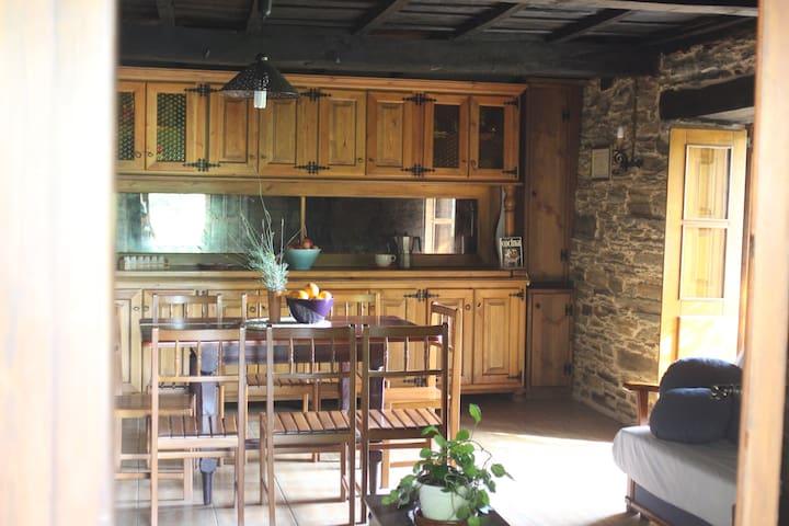 Casa de turismo rural en plena naturaleza A Niñada - O Incio - Huis