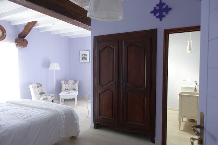 B&B Chambre romantique à la campagne près d'Albi - Fénols - Casa de huéspedes