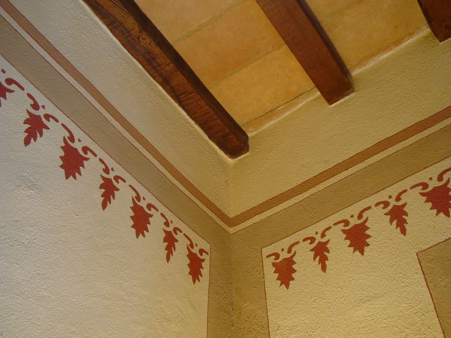 Hand-painted decorations