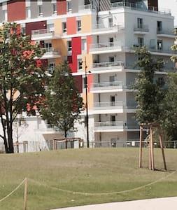 Studio standing centre ville -  au calme dans parc - Strasburgo - Appartamento