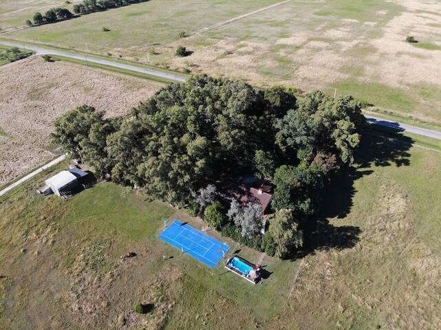 Excelente Casa quinta en Gómez,  4 hectáreas