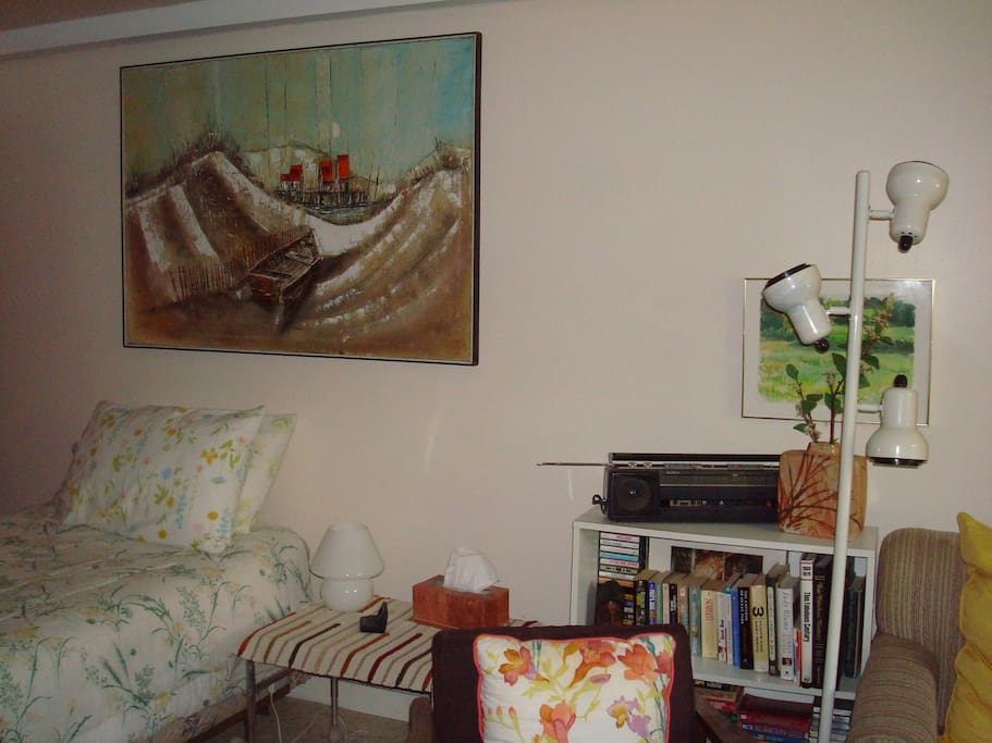 Great dune-scape painting, first actually acquired painting.