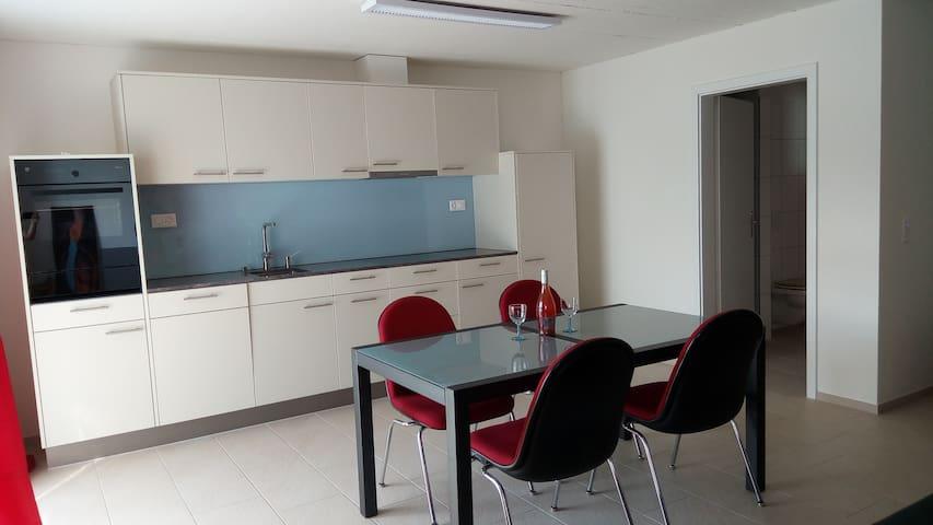 Möblierte 1 1/2 Zimmer-Neubau-Wohnung