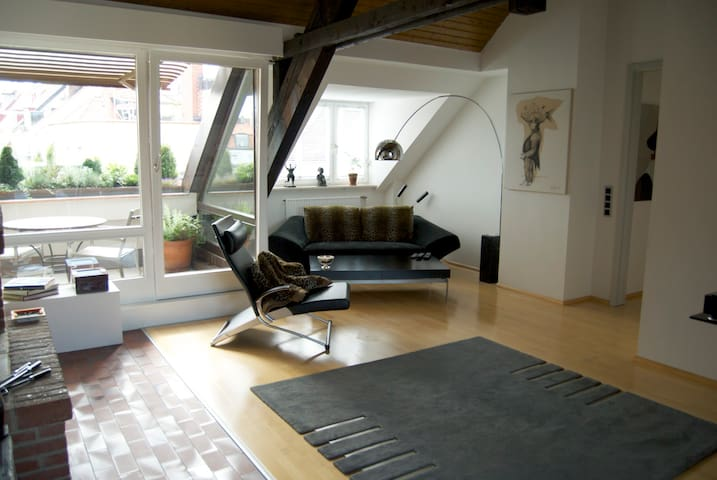 Luxusapartment 100qm - München - Appartement