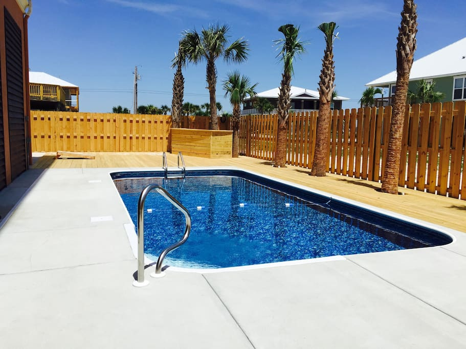 Beautiful private pool for relax and entertaining