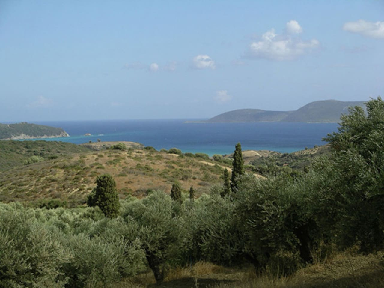 Views from the house, Methoni, Greece