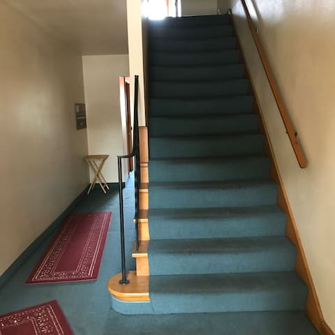Stair way to 2nd floor