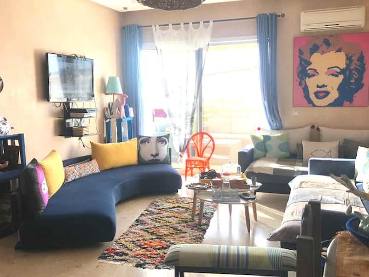 Splendide Appartement meublé aux perles de tamaris