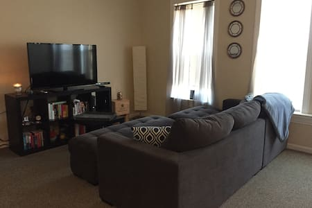 1 Bedroom Apt in Downtown Cranford - Appartement