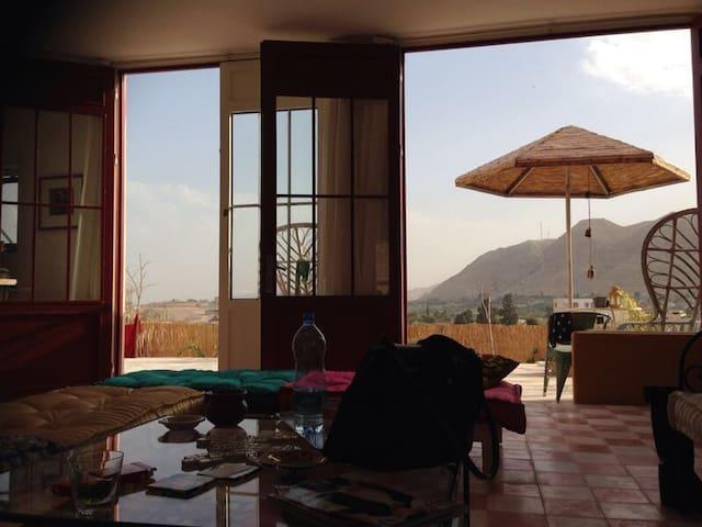 Villa Rosa - Design - Garden - View - Jericho/Nueimeh - Casa