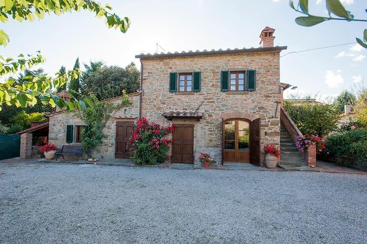 Casa colonica in borgo agricolo