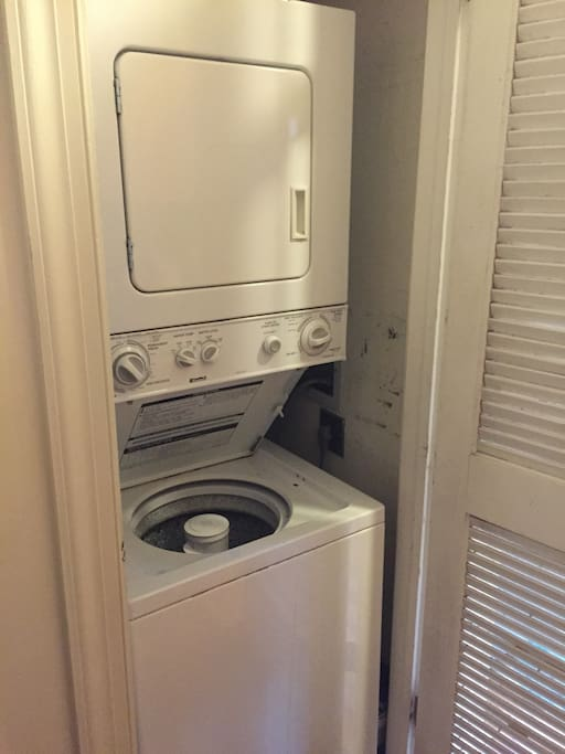 Washer/Dryer unit in apartment