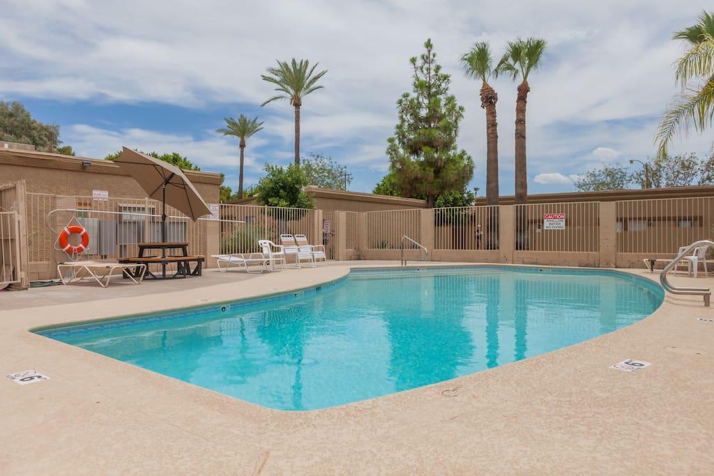 Sweet city spot 1bd poolside appartements en r sidence - Residence contemporaine yerger en arizona ...