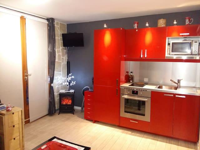 appartement en moyenne montagne - Hotonnes - Huoneisto