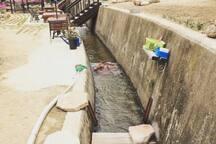 월악산 송계 계곡  목조 펜션 베네치아