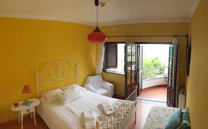 Double room  in nice Villa