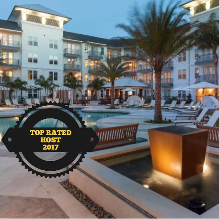 Luxury Apartment Downtown ORLANDO - 2 bdr/2 bath