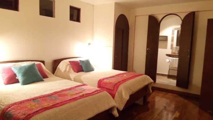 Preciosas habitaciones Coloniales