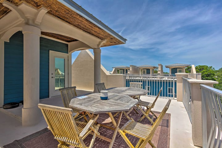 NEW! Santa Rosa Beach Haven w/ Rooftop+Pool Access