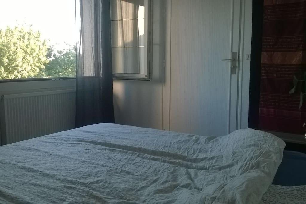 chambre vue sur Loire