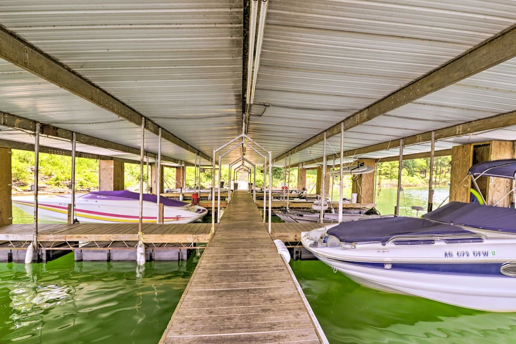 You'll be just a few steps from the lake and community boat dock!