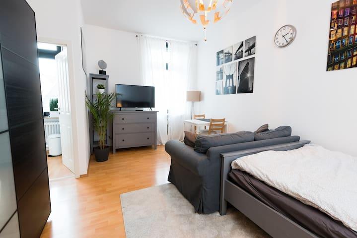 Gemütliches Apartment im Musikerviertel