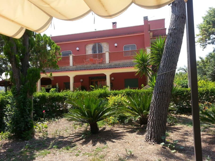Villa Barco, contrada Paradiso