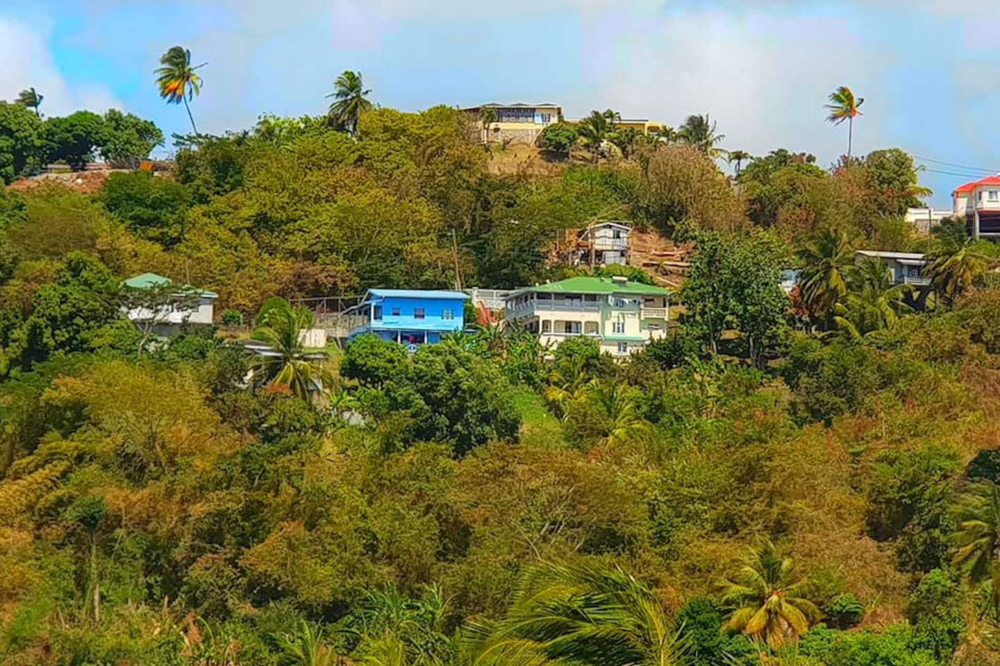 Morne Jaloux Apartments in the Morne Jaloux Hills