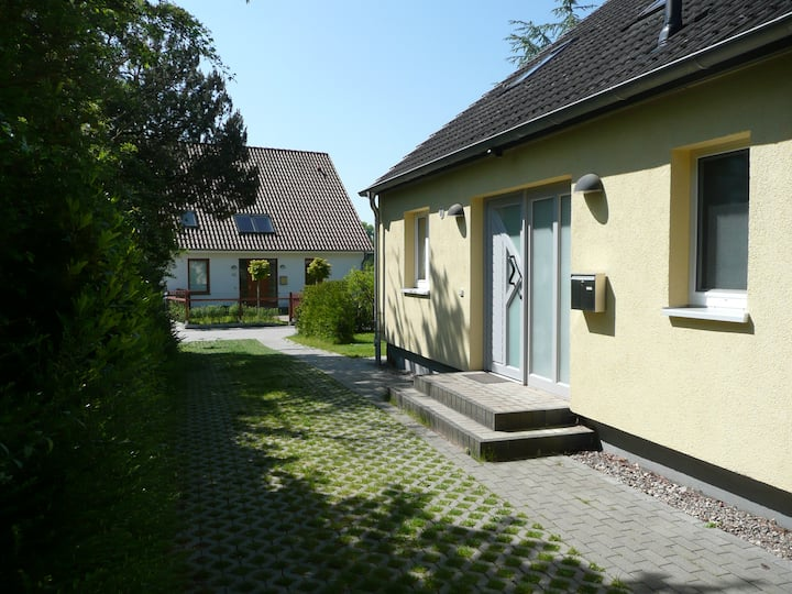 """Holiday apartment at a nature reserve """"Russee"""""""