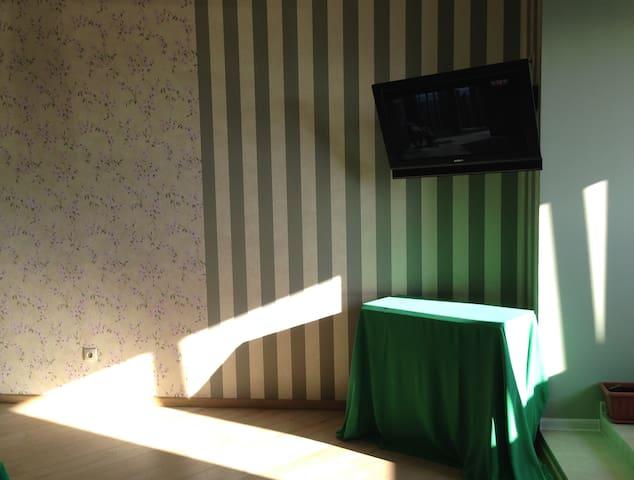 Телевизор в общей комнате