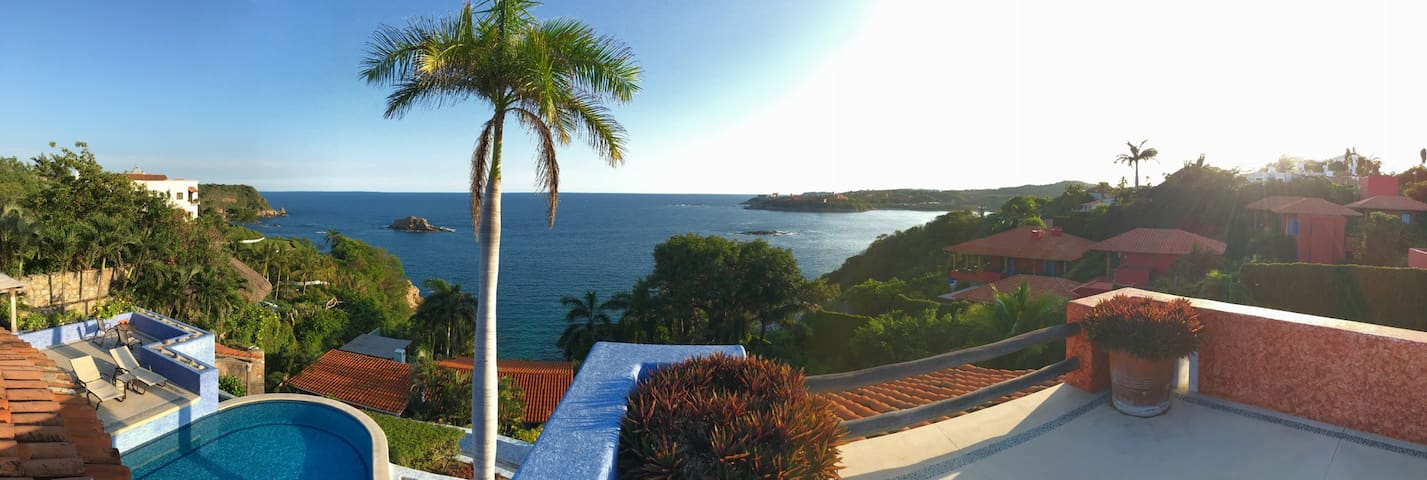 Suite Palomar, vista espectacular! - Huatulco - Bed & Breakfast