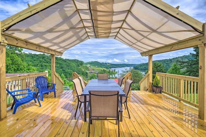 Cedar Creek View- Sugar Hollow- Boat Slip included