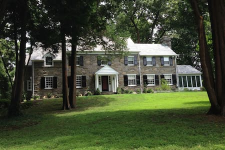 Spacious Family Home for Pope Visit - Bala Cynwyd - 独立屋