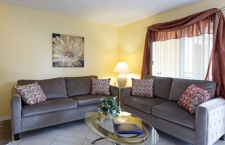A beautiful and unique living space stylished for you and your friends and family to enjoy.