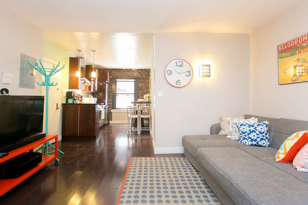 Looking to escape to NYC? Experience a new standard of travel in a brand new renovated loft