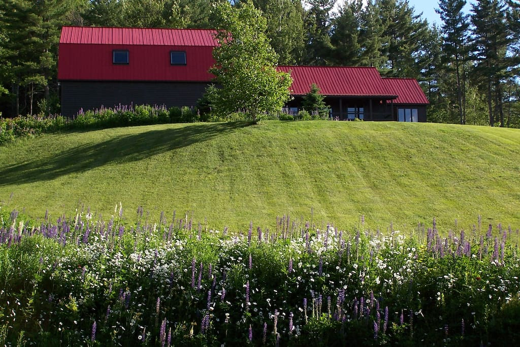 White mt barn guest house w views in littleton new for Guest house on the mount reviews