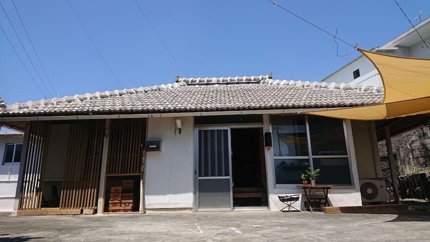 1日1組限定☺︎<Camp  House  by port Side> 港発!島旅・山原旅の起点