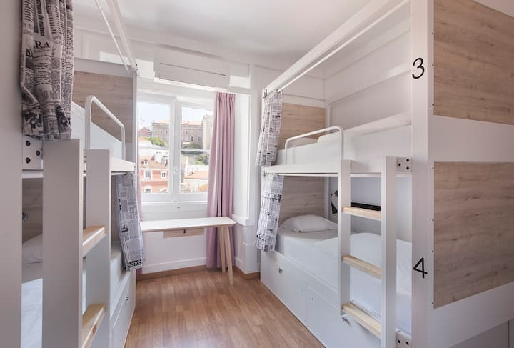 Goodmorning Hostel shared dormitory