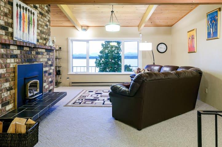 Spacious Waterfront Birch Bay Home - Blaine - Maison