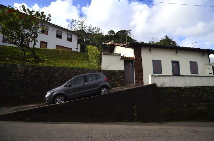 Sua casa em Ouro Preto - 3 quartos. - Ouro Prêto - Casa