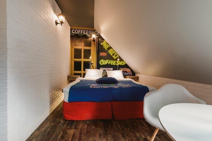 Pokój Amsterdam dla trzech osób