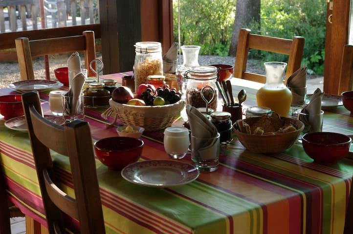 Mas de Font Chaude - Hab. Lilas - Clermont-l'Hérault - Bed & Breakfast